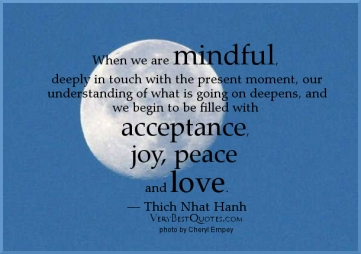 mindful acceptance love